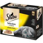 Multipack Sheba Selection in Sauce | Geflügel Variation 12 x 85g
