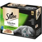 Sheba Selection in Sauce Feine Vielfalt | Multipack 12 x 85g
