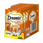 Maxi-Pack! Dreamies Extra Crunch | mit Huhn 60g 5 + 1 gratis!