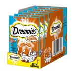 Maxi-Pack! Dreamies Extra Crunch | mit Lachs 60g 5 + 1 gratis!