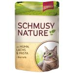 Schmusy Nature Pouch Huhn, Lachs & Pasta | 100g