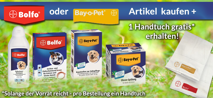 Bolfo und Bay-o-Pet Aktion