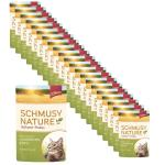 Sparpack! Schmusy Nature Vollwert-Flakes Kaninchen & Reis in Sauce | 22 x 100g
