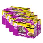 Sparpack! Whiskas 1+ | Geflügelauswahl in Sauce Multipack (4 x 24 =) 96 x 100g