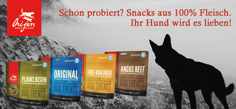 Freeze-Dried Treats von Orijen