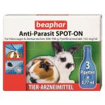 Beaphar Anti-Parasit Spot-On für Kleinnager 3 x 0,77ml SMALL