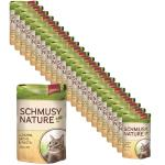 Sparpack! Schmusy Nature Pouch Huhn, Lachs & Pasta | 24 x 100g