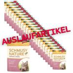 Sparpack! Schmusy Nature Vollwert-Flakes Pute & Reis in Sauce | 22 x 100g