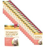 Sparpack! Schmusy Nature Vollwert-Flakes Lachs & Reis in Sauce | 22 x 100g
