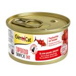 GimCat ShinyCat Superfood Duo Thunfischfilet mit Tomaten | 70g