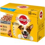 Pedigree Portionsbeutel Multipack in Pastete | 12x100g