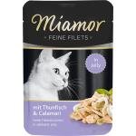 Miamor Feine Filets Thunfisch & Calamari in Jelly | 100g