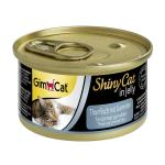 GimCat ShinyCat Thunfisch mit Garnelen in Jelly | 70g