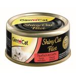 GimCat ShinyCat Filet Thunfisch & Lachs | 70g