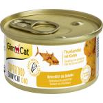 GimCat Superfood ShinyCat Duo Thunfischfilet mit Kürbis | 70g