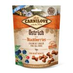Carnilove Dog Crunchy Snack | Ostrich with Blackberries 200 g