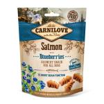 Carnilove Dog Crunchy Snack | Salmon with Blueberries 200 g