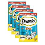 Sparpack! Dreamies Mega Packs | mit Lachs 4x180g