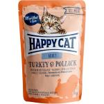 Happy Cat All Meat Adult Truthahn & Seelachs Pouch | 85g
