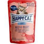 Happy Cat All Meat Adult Rind & Herz Pouch | 85g