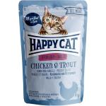 Happy Cat All Meat Adult Sterilised Huhn & Forelle Pouch | 85g