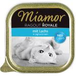 Miamor Ragout Royale Cream Lachs in Joghurtcream | 100g