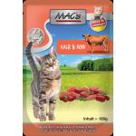 MAC's Cat Pouch Pack Kalb & Rind & Cranberry | 100g