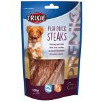 Trixie PREMIO Fish Duck Steaks, 5 St./100 g