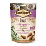 Carnilove Dog Soft Snack Quail with Oregano | 200g