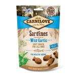 Carnilove Dog Soft Snack | Sardines with Wild Garlic 200g