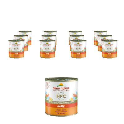 Sparpack! HFC Jelly Huhn | 12 x 280 g