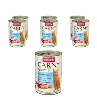 Sparpack! Animonda Carny Adult Huhn & Lachs | 6 x 400g