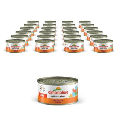 Sparpack! Almo Nature HFC in Jelly mit Huhn | 24 x 70g