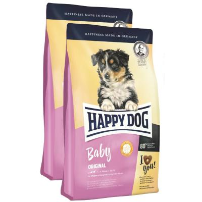 Sparpack! Happy Dog Baby Original | 2x10kg