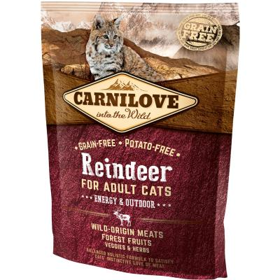 Carnilove Cat Adult Reindeer Energy & Outdoor | 400g