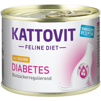 Kattovit Diabetes Huhn | 185g