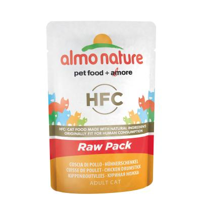 Almo Nature HFC Raw Pack Hühnerschenkel | 55g