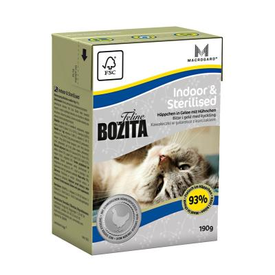 Bozita Feline Indoor & Sterilised | 190g