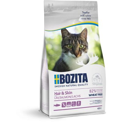 Bozita Hair & Skin Wheat free Salmon | 400g