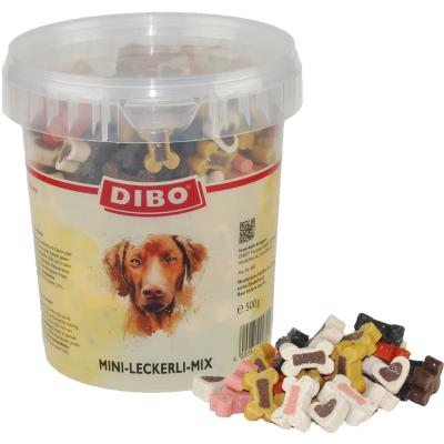 DIBO Mini-Leckerli-Mix | 500g Eimer