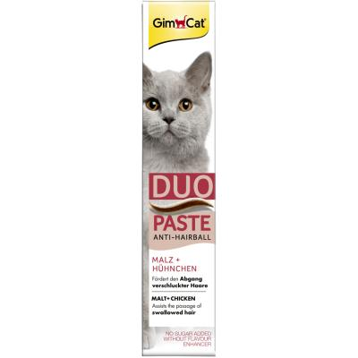 GimCat Anti-Hairball | Duo-Paste Hühnchen + Malz 50g
