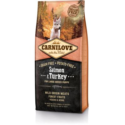 Carnilove Dog Puppy Large Breed Salmon & Turkey | 12kg