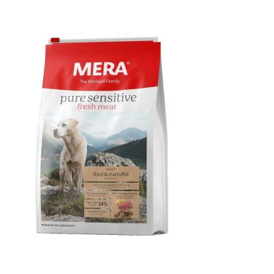 MERA pure sensitive fresh meat Rind&Kartoffel High Protein | 4kg
