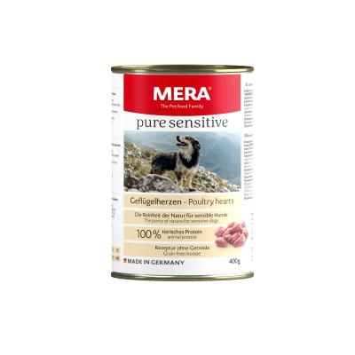 MERA pure sensitive MEAT | Geflügelherzen 400g