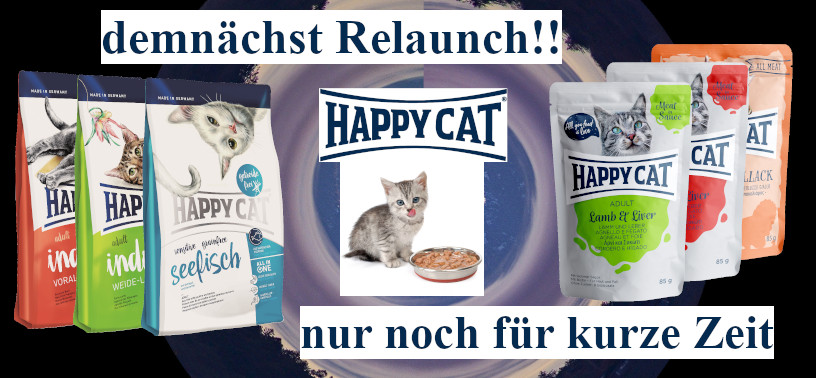 Happy Cat Auslaufartikel