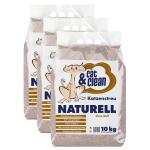 Sparpack! Cat & Clean Naturell | 3 x 10kg