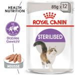Royal Canin Cat Sterilised Mousse  85 g