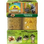 JR FARM Peanut Bar 2er Pack Nüsse & Holunder | 700 g