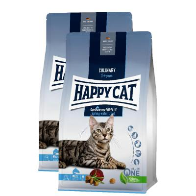 Sparpack! Happy Cat Culinary Adult Quellwasser Forelle | 2 x 10 kg
