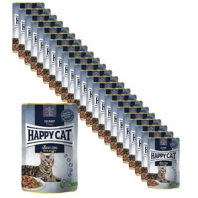 Sparpack! Happy Cat Culinary Meat in Sauce Land Geflügel Pouch | 24 x 85 g